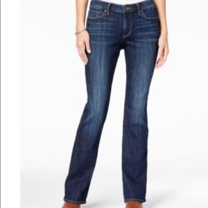 Lucky Brand Ginger Bootcut Jeans Midrise Curvy Fit